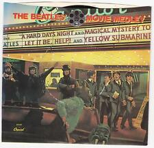 "Beatles ""Movie Medley"" USA  7"" vinyl"