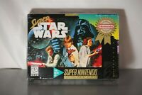 RARE BEST OF Super Star Wars Super Nintendo SNES New Factory Sealed DEADSTOCK