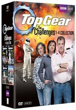 Top Gear The Challenges Season series 1, 2, 3 & 4 DVD Box Set R4/Aus 1 - 4