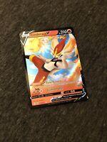 Pokemon Cinderace V 018/072 Shining Fates Ultra Rare Mint