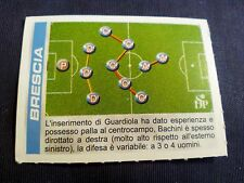 Figurina Calciatori Panini 2002/2003 Aggiornamento schema di gioco BRESCIA