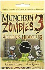 Munchkin Zombies 3 Hideous Hideouts by Steve Jackson Games