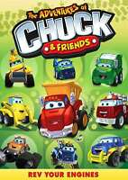New: THE ADVENTURES OF CHUCK & FRIENDS - Rev Your Engines DVD