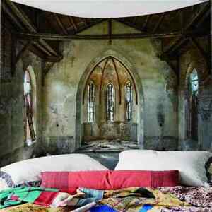 A Humble Dilapidated House 3D Wall Hang Cloth Tapestry Fabric Decorations Decor