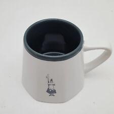 Bialetti White & Gray No Spill Coffee Mug 10 oz.