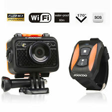 SOOCOO S60 Full HD 1080P 60M 170° WIFI Waterproof Sports Camera Remote Control
