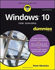 Windows 10 For Seniors For Dummies, New, Free Shipping