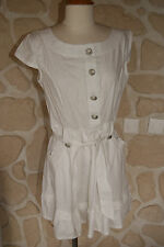 Robe neuve blanche taille L marque KY Création (prix initial 49€)