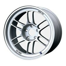 Enkei RPF1 17x7.5 5x100 48mm Offset 73mm Silver Wheel 379-775-8048SP WRX STi
