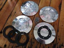 für OZ Futura : Felgendeckel Alu metall center hub cap centre badge M298