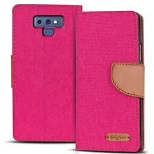 Mobile Phone Case Samsung Galaxy Note 9 Book Case Flip Case Flip Cover Pink