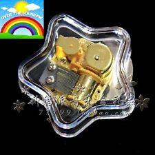 Gorgeous Star Wind Up Music Box : SOMEWHERE OVER THE RAINBOW