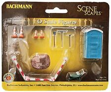 Bachmann O Scale Building Site Accessories 33164