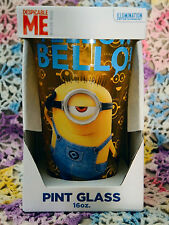 Despicable Me Yellow Bello 16 oz. Pint Glass - NEW!