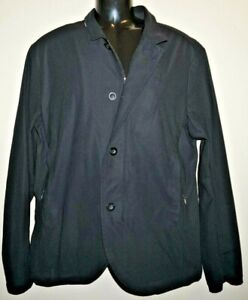Lululemon Black Nonstop Zip Blazer Reflective Technical Jacket Size Large L