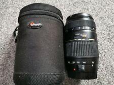 Tamron 70-300mm Canon AF Lens