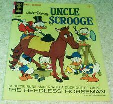 Walt Disney's Uncle Scrooge 66, NM- (9.2) The Heedless Horseman! 20% off Guide!