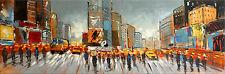 Gemälde Bild - Acrylbild - Times Square / New York am Abend - Martin Klein