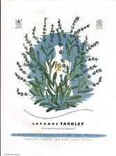 Publicité ancienne savon lavande Yardley 1950 issue de magazine Havas