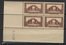 Algérie RF sites et paysages 4 timbres neufs coin daté 2.11.39  /T3266