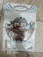 NIP Vintage Ragamuffins Iron-On Transfer Noah's Barn Ark 4142 Dianna Marcum 1992
