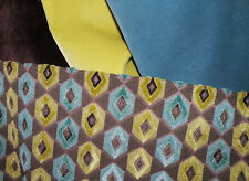 Stroheim Echo Epingle Remnant & 3 Robert Allen Velvet Upholstery Fabrics