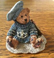 """Boyds Bears """"Christian by the Sea"""" Sailor Bear with Toy Sailboat, NIB 1993 #2012"""