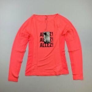 RAPHA Souplesse Long Sleeve High Viz Pink Allez! Base Layer Women's Small New