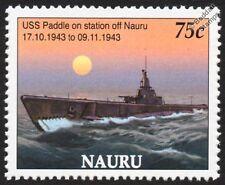 WWII USS PADDLE (SS-263) Gato-Class Submarine US Navy Warship Stamp