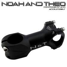 """n&t BICICLETA 80mm POTENCIA 28.6mm 1-1 / 8"""" A 31.8mm Ciclismo Manillar Carretera"""