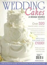 WEDDING CAKES A DESIGN SOURCE ISSUE 25 OVER 320 BEAUTIFUL CAKES SOFTCOVER BOOK