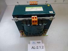 Marx st 1.3 No. 4129/91 Transformer Kva 1,3, Primary 380V 3,65A Sec 220V 5,9A