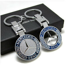 2Pack 3D Car Logo Keyring Mercedes Benz Key Chain Accessories Keychain