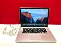 "Apple MacBook Pro 15"" 1TB SSD Hybrid 8GB RAM OSx-2015 Pre-Retina 3 YEAR WARRANTY"