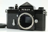 [ Exc ++++ ] Nikon F Eyelevel finder BLACK 35mm SLR Film camera Body only JAPAN