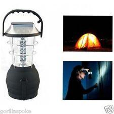 36 LED Outdoor Hand Dynamo/Solar Lantern - GorillaSpoke for Free P&P Worldwide!