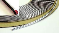 Chrom Zierleiste 3m x 6mm selbstklebend universal Auto Chrom Kontur Leiste
