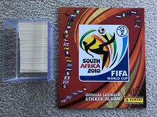 2010 Panini World Cup Soccer Empty Album Plus Complete Sticker Set Combo Lot