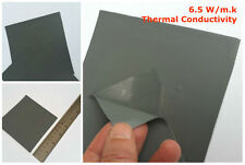 Thermal High Conductive Silicone Pad 100*100*1mm CPU GPU IC Cooling 6.5 W/m.K