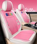 The New Hello Kitty Five-seater Car Seat Pu Cover Is Luxurious And Comfortable