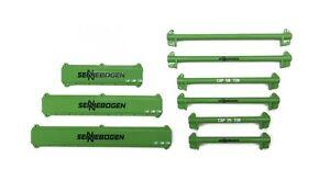 "121 pc Crane Rigging & Lifting Kit w/ Spreader Beams -""SENNEBOGEN""- 1/50 - Weiss"