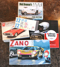 Ford Racing Cars of Holman Moody - AFX Mustang, GT40 MKII, Nascar Torino + Book