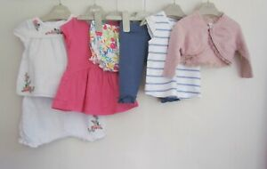 NEXT RIVER ISLAND Baby Girls Bundle Outfits Bundle age 0-3 months   AE267 OR
