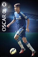 OSCAR Chelsea FC EPL Soccer Football Superstar Action POSTER
