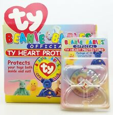 TY Beanie Babies Official TY Heart Protectors 12 Packages of 10 Store Display