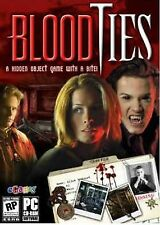 BLOOD TIES PC Game Hidden Object NEW