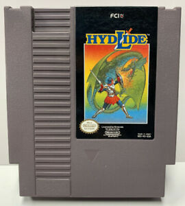 Hydlide for Nintendo NES Cartridge Only Authentic NTSC Version By FCI