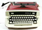 1970+Royal+Custom+II+Portable+Typewriter+-+Mint+Condition+in+Case+with+Paperwork