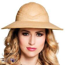 Fancy Dress New Adult Mens Ladies Safari Jungle African Explorer Pith Helmet Hat
