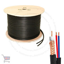 New High Quality 305 Meter Shotgun RG59 Video And 2 Power CCTV Cable Lead UKES